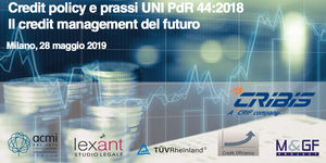 Credit Policy e Prassi UNI PdR 44:2018 - Il Credit Management del futuro - seconda edizione